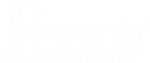 Penny Logo White
